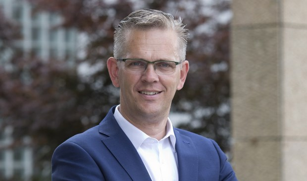 Burgemeester Jeroen Gebben van Tytsjerksteradiel.