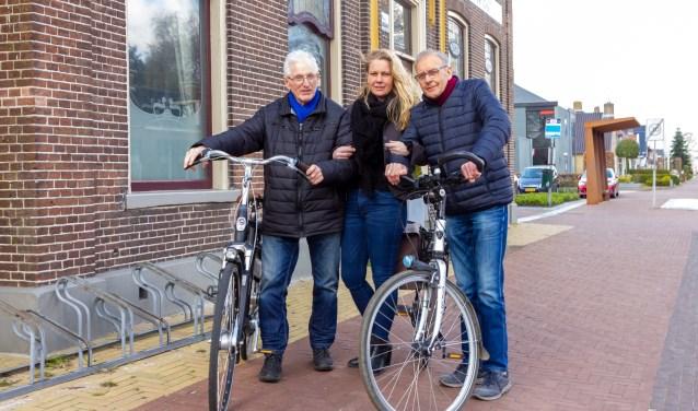 Een deel van de organisatie, van links naar rechts: Jan Holtrop, Gryte Schaafstal en Sjoerd van der Werf.