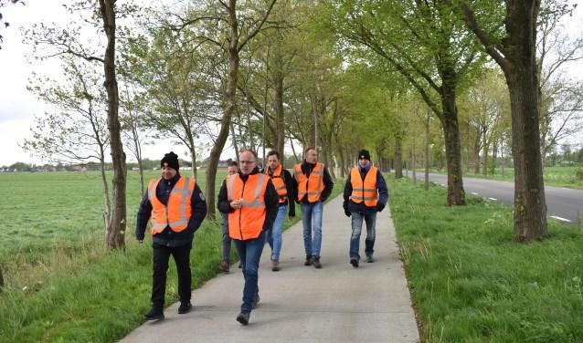 Verdeeld in vier teams moesten de vrijwilligers zaterdag met behulp van GPS opdrachten uitvoeren.