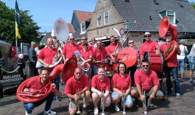 De Harrekieten tijdens het Bootwateren op Ameland 2018.