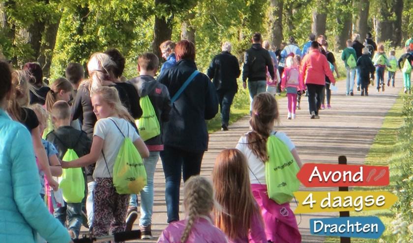 Inschrijving voor de Avond4daagse in Drachten kan tot en met 10 mei.