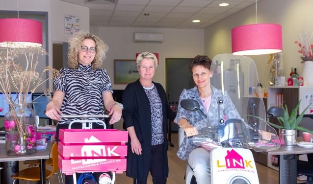 Huis verkopen? Neem contact op met Heidi de Haan, Greta Hoekstra en Tessa de Jong van LINK Makelaars in Burgum.