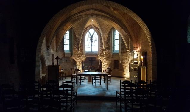 Kerk Ressen Advent. Foto: Wilma Hartogsveld
