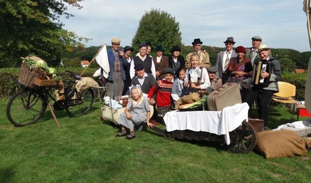 Exodusgroep Mozaiek in Groesbeek. (foto: Martien van Hemmen)