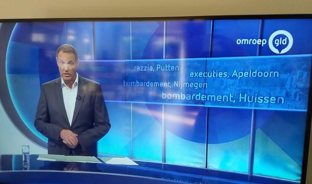 Impressie nieuws Omroep Gelderland. (foto: Jan in 't Hout)