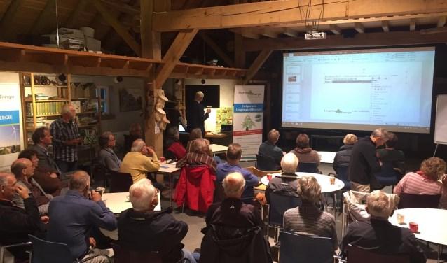 Thema-avond Lingewaard Energie. (foto: Frans van Herwijnen)