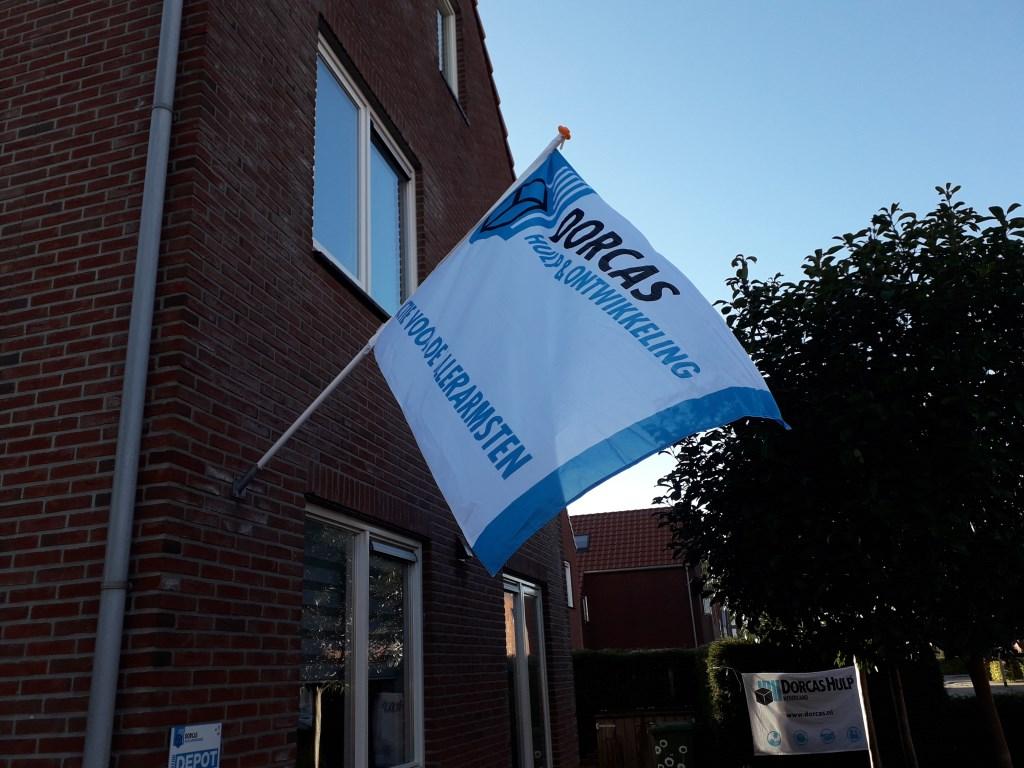 vlag Dorcas Foto: M. Postmus © Hét Gemeentenieuws