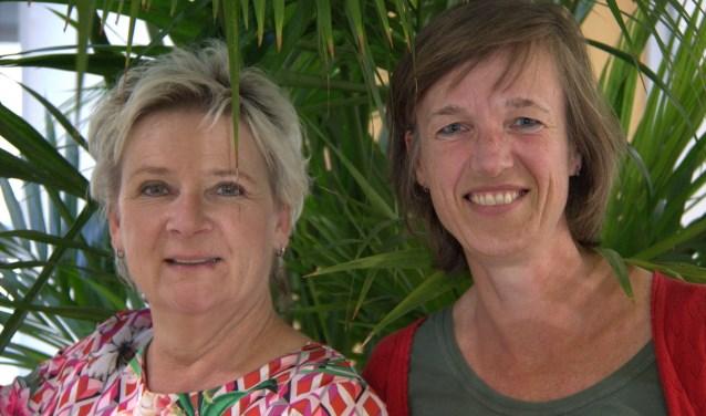 Jacqueline Coenen en Sandra Smits. (foto: Oosterpoort)