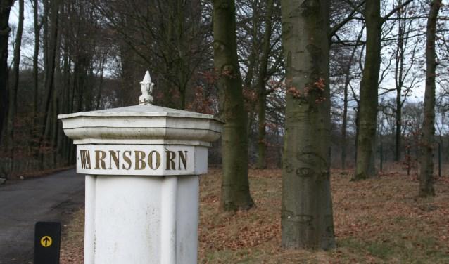 Toegangspoort Warnsborn (foto: Paulien Keizer)