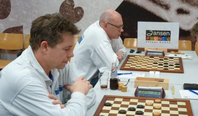 Fred de Koning (l) en Alexander Baljakin