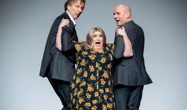 Tijd voor een trio - Niet Schieten! en Esmee van Kampen (foto: Jaap Reedijk)