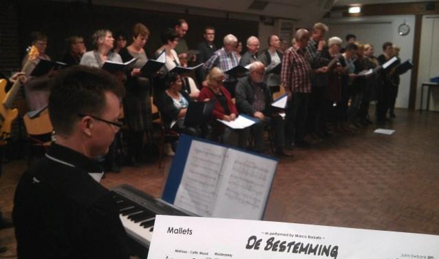 Jarno Scholten tijdens repetitie voor The Passion (foto: Alex Ubbink)