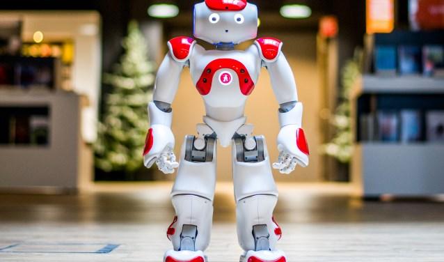 Biebrobot robin lost maatschappelijke problemen op (Foto: Foto: M van Esbroek