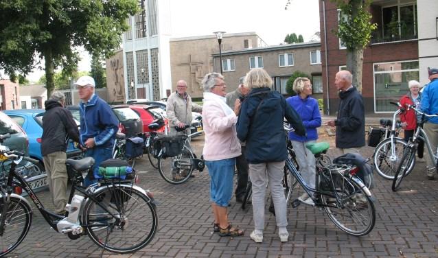 Impressie van voor de start (foto: N. van Kleef)