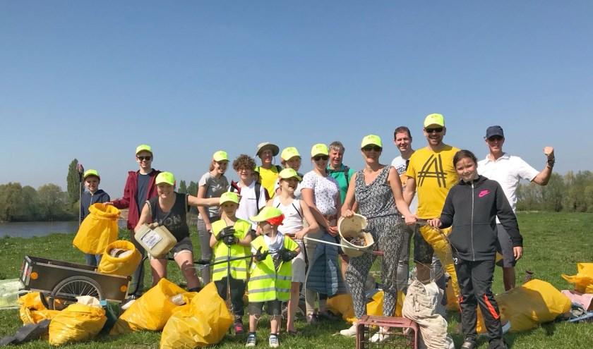 Het Team van GoClean de Liemers  (foto: Annemiek Kok)