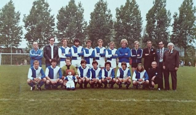 Voormalig eerste elftal vol topspelers van MVV'18