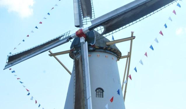Molen de Hoop is tweede pinksterdag ook geopend (foto: E. Wieggers)