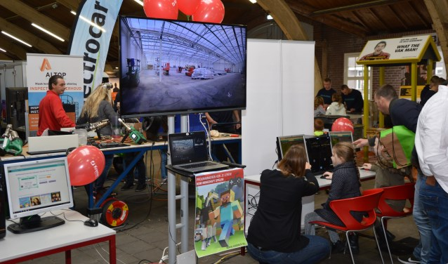 Techniekdag 2017 vond ook plaats in de Markthal in Didam (foto: Tonnie Hesseling)