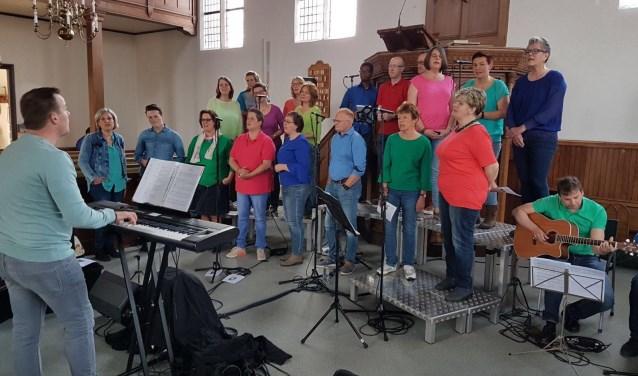 Optreden Gospelkoor Yes uit Oosterbeek