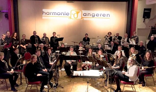 Harmonie-orkest Angeren (foto: Henk Sluiter)