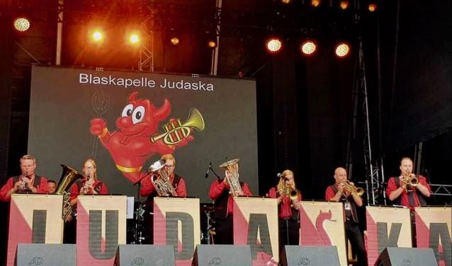 Blaaskapel Judaska op Woodstock der Blasmusik (foto: Judaska)