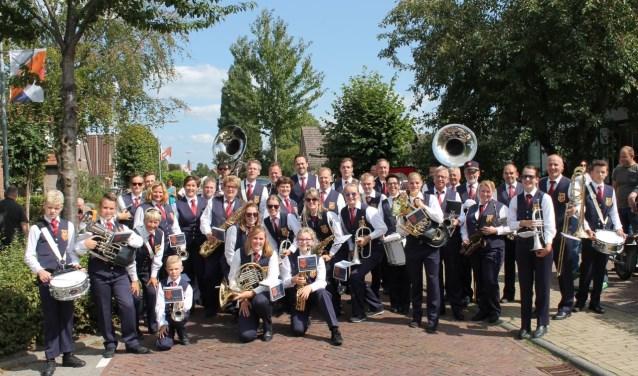 Optocht Schuttersfeest Giesbeek 2018 (foto: Bert van der Saag)