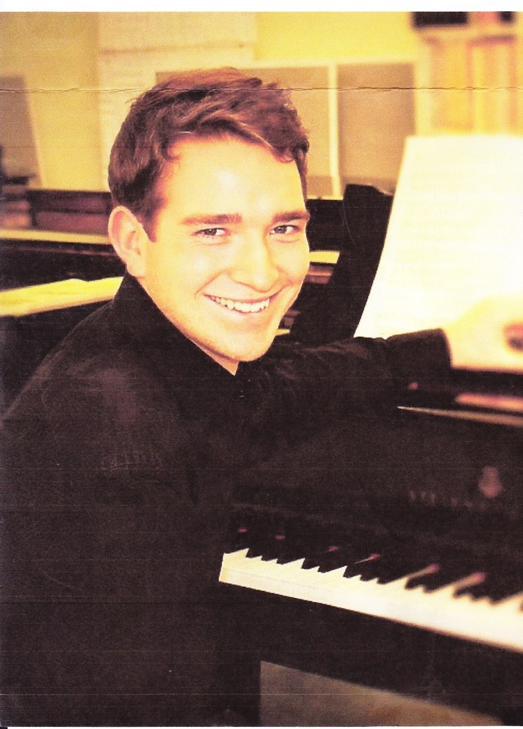 Max Philip Klüser. (foto: Arno Zaad)