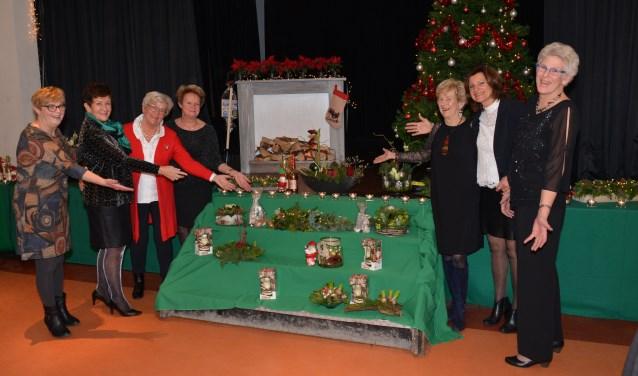 De Kerstcrea's van bridgeclub 3 Sans-Atout