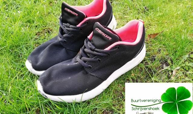 sportschoenen ter illustratie voor wandel je fit
