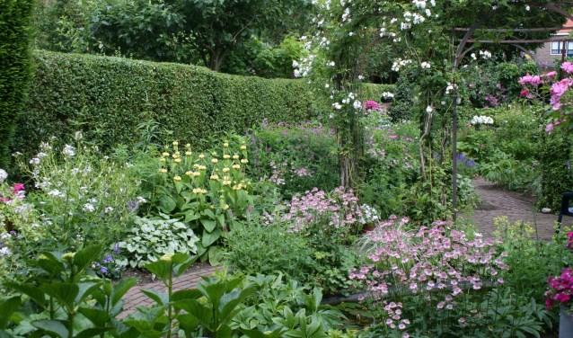 Deelnemende tuin. (foto: Rob Halsema)