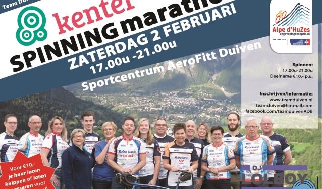 Team Duiven Alpe d'HuZes 2019. (foto: Fotografie Eef & Co)