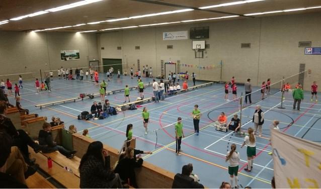 Basisscholen volleybaltoernooi. (foto: Melissa Burgers)