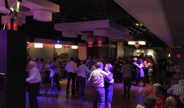 Impressie dansavond. (foto: A J G Kaal)