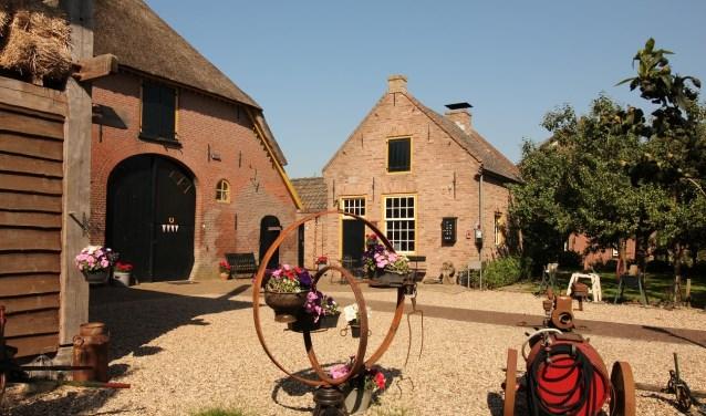 Zicht op het originele bakhuis. (foto: Fons Brekelmans)