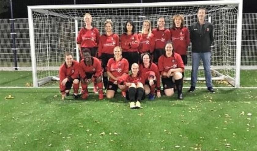 SC Bemmel dames 35+. (foto: Mirjam Keijser)