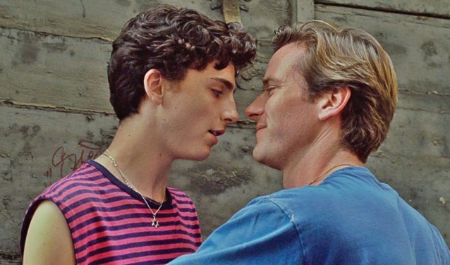 Romantiek in Call me by your name