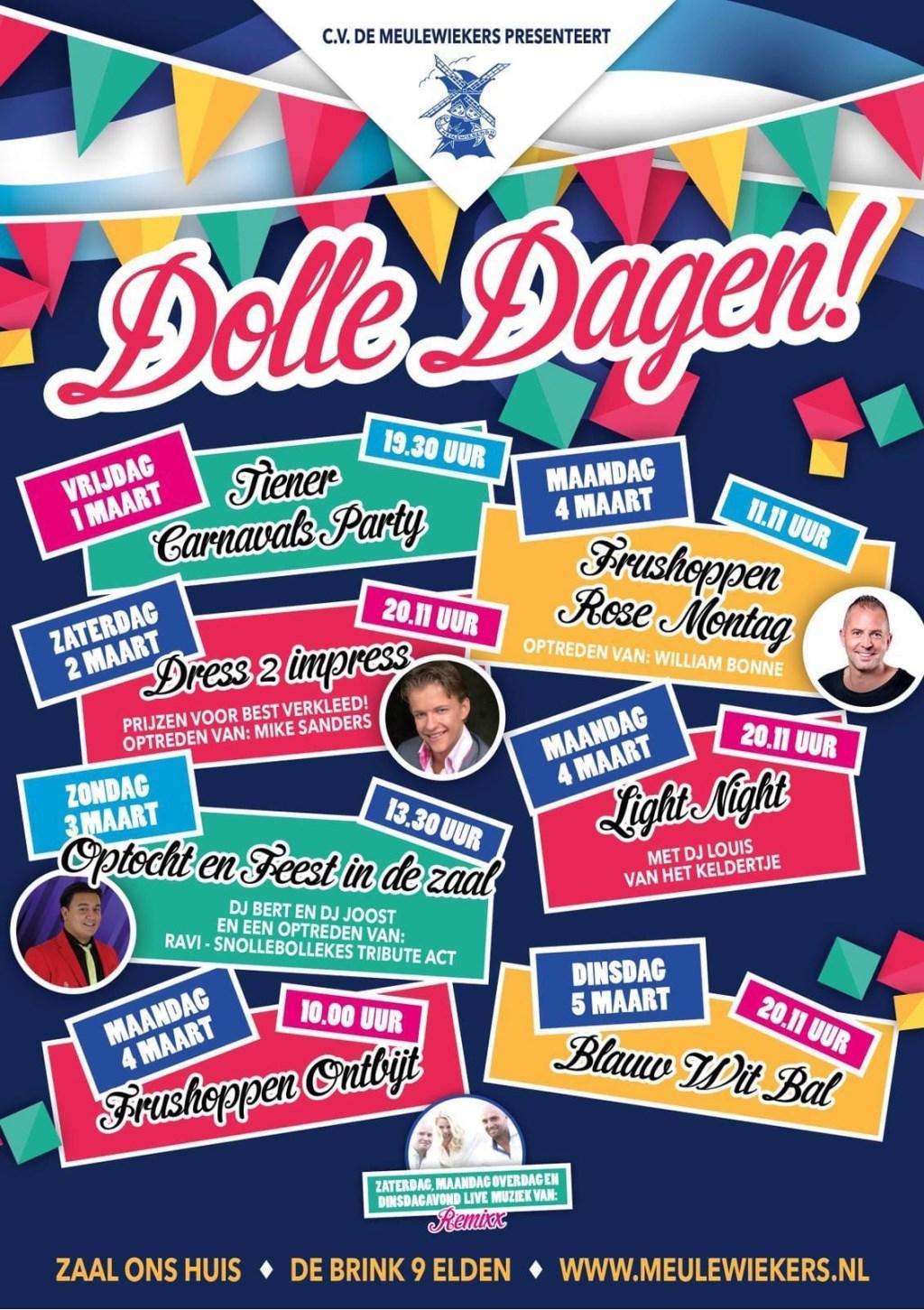 Programma Dolle Dagen