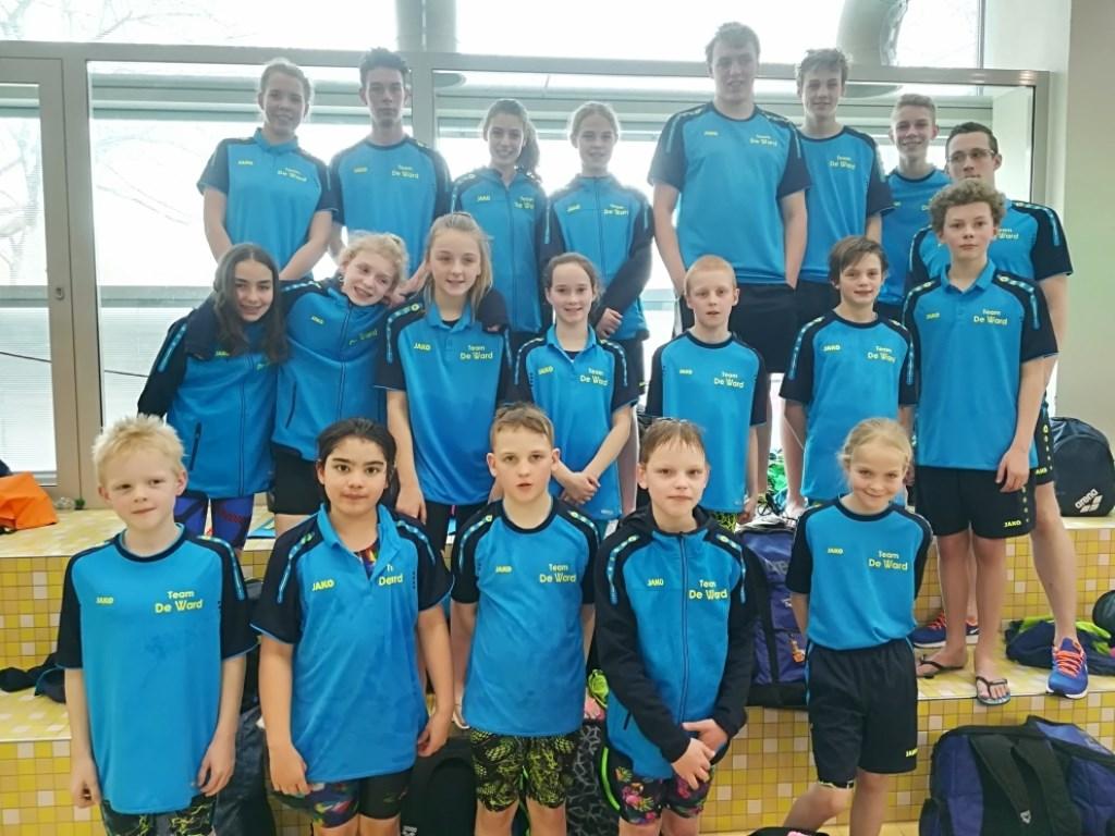 Het team van De Ward in Dortmund. (foto: Ester Ruisch)