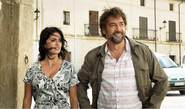 Penélope Cruz en Javier Bardem