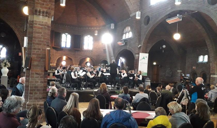 Koffieconcert van 17 februari in Zandse Kerk. (foto: Herman Geerts)