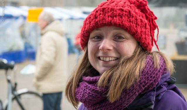 Portret van dorpsdichter Marjolein Pieks. (foto: Hans van Wijk)