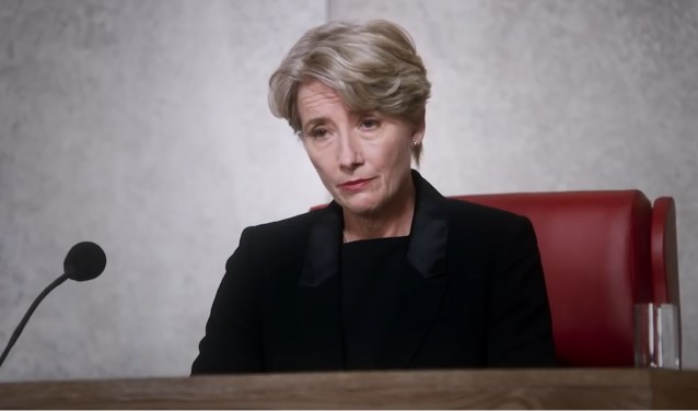 Emma Thompson in The Children Act.