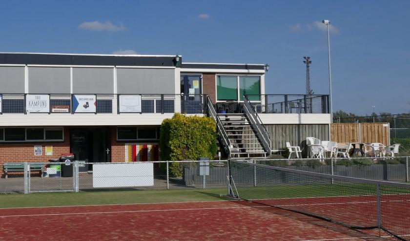 Clubgebouw TV Westervoort. (foto: Willibrord ten Berge)