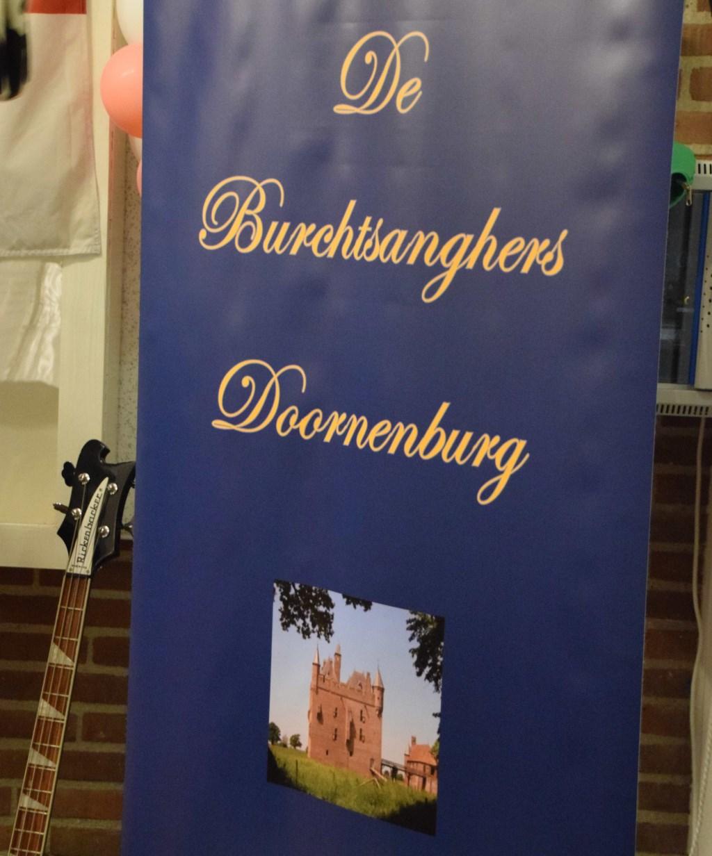 Banner van het koor