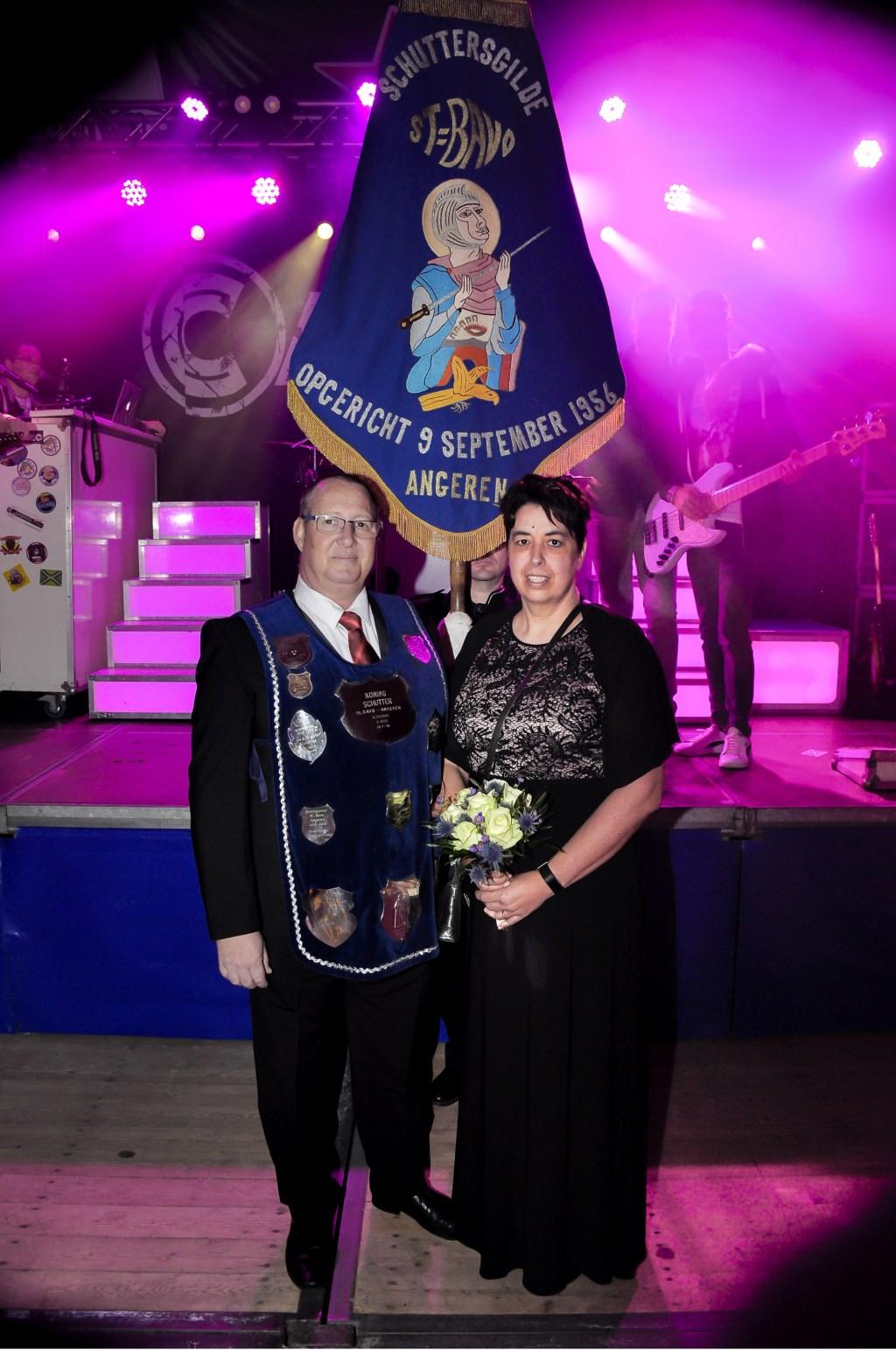 Koningspaar 2019: Hans en Antoinette Puntman (foto: Kees Stoffels)