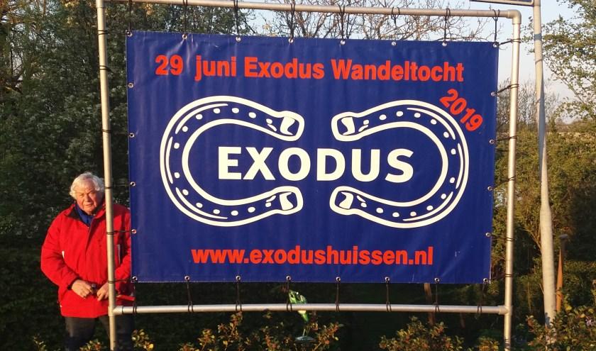 Bij de Bloesemtocht maakt men kennis met de Exodustocht. (foto: Martien van Hemmen)