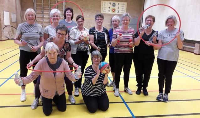 Sportieve/gezellige damesgroep.