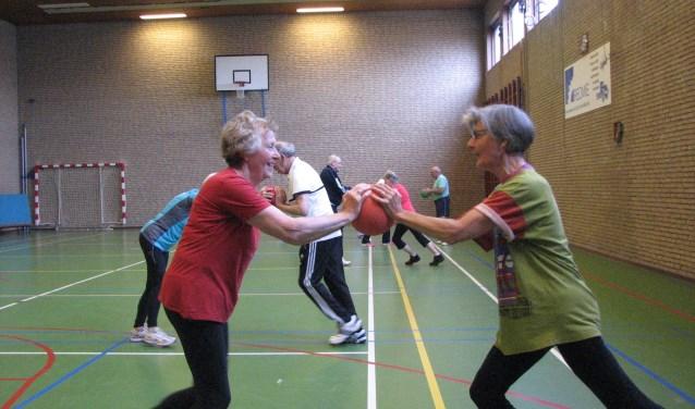 Sportles in Ooij. (foto: Evert Ruiter)