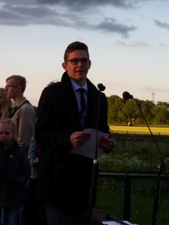 Dichter en schrijver Thijs Kersten uit Heumen. (foto: Mirjam Kersten Beelen)
