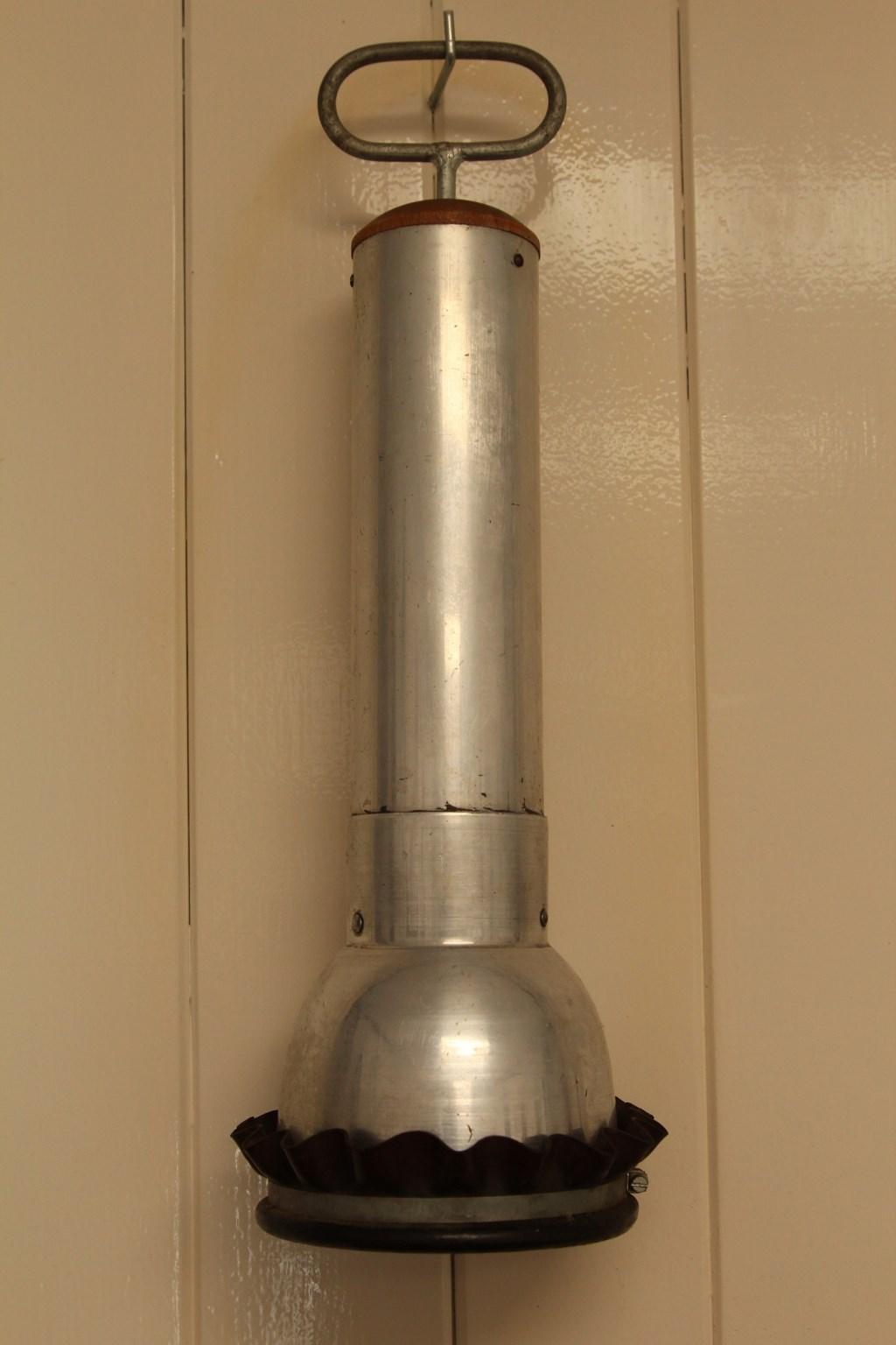 Luchtpomp voor kalveren. (foto: Fons Brekelmans)